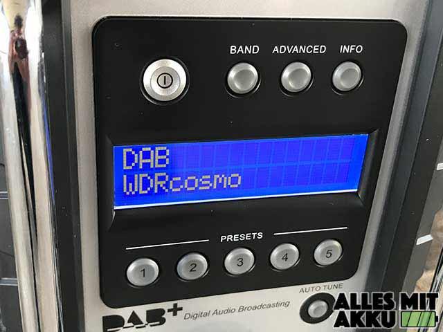 Baustellenradio Test Makita DMR110 DAB