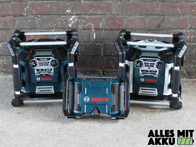 Bosch Baustellenradios Alle Modelle