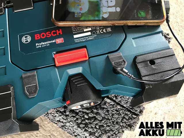 Bosch GPB 12V-10 Professional AUX Handy