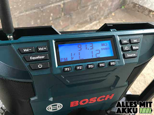 Bosch GPB 12V-10 Professional Display Beleuchtet