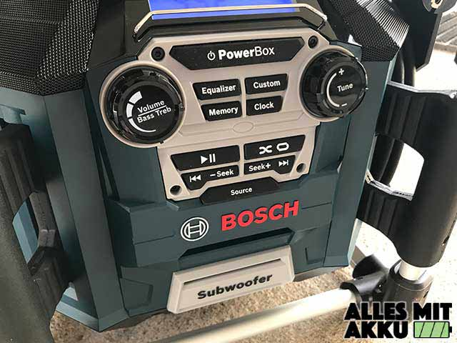 Bosch GML 20 Bedienung