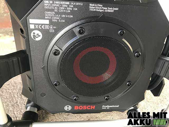 Bosch GML 50 Unten