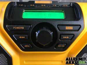Dewalt Baustellenradio Test DCR017