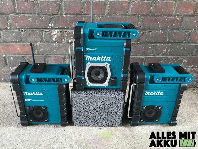 Makita Baustellenradio Test Alle Modelle Seite