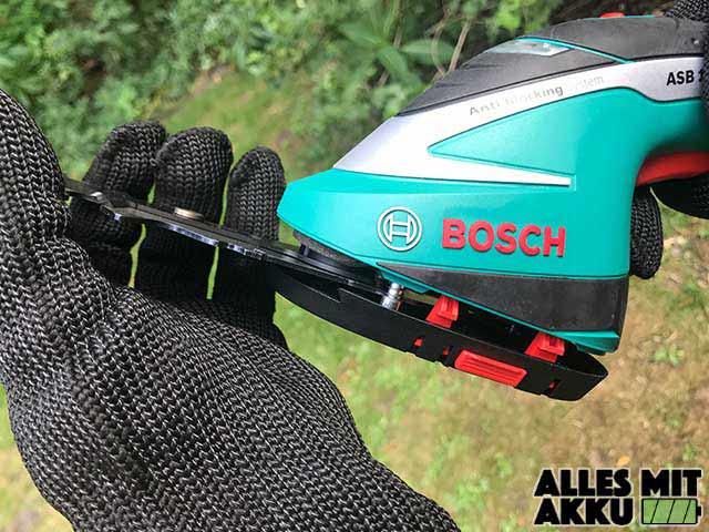 Bosch DIY ABS Klinge tauschen