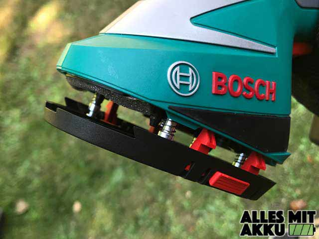 Akku Gartenscheren Test Bosch AGS Aufnahme