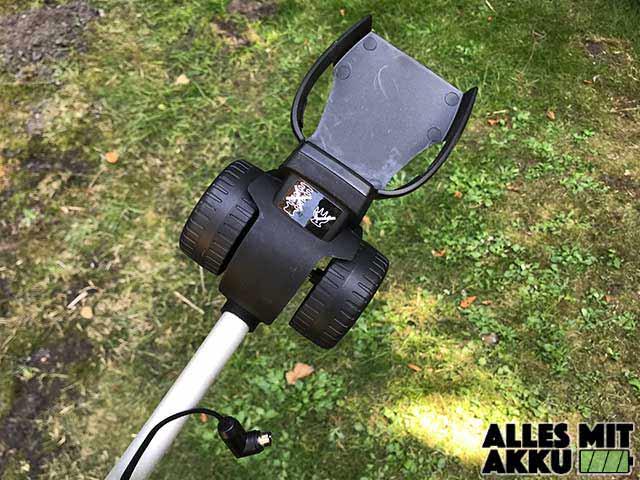 Bosch DIY Akku-Grasschere AGS Stiel Rollen