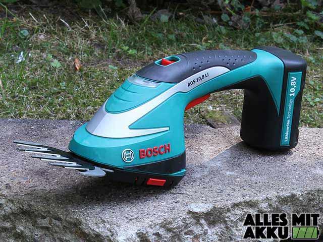 Bosch DIY Akku-Grasschere AGS Test