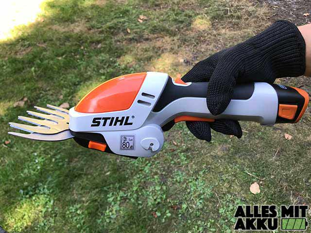 Akku Gartenschere Test Stihl HSA 25