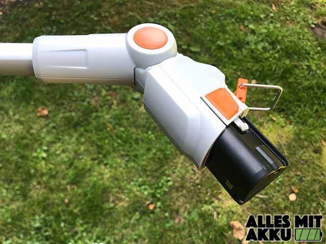 Stihl HSA 25 Stiel Aufnahme