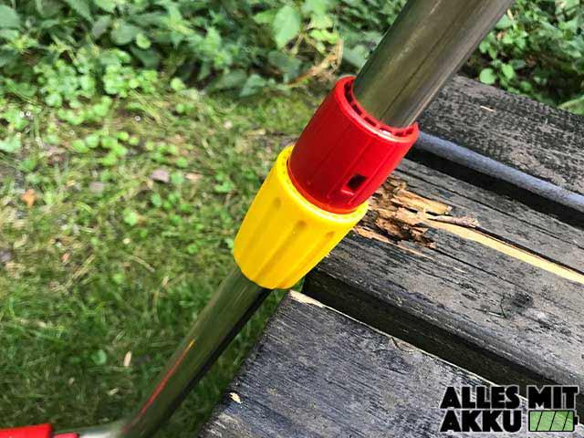 WOLF-Garten LI-ION POWER 60 Test Stiel Schraubgewinde