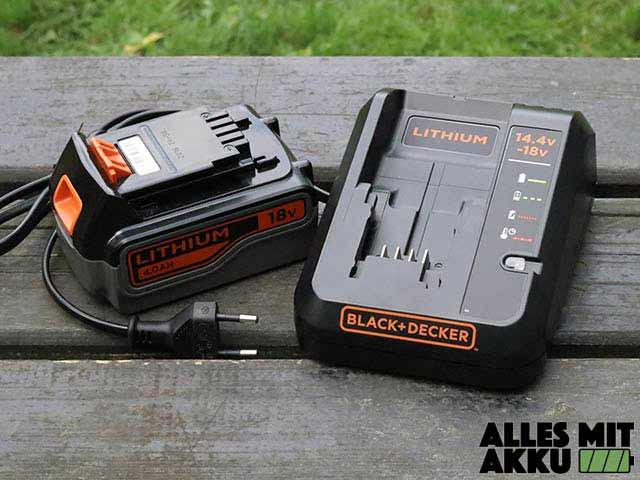 Black+Decker GLC3630L20 Ladegerät