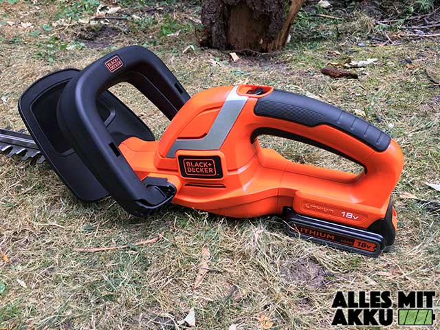 Black + Decker GTC1845Li20 Liegend Links