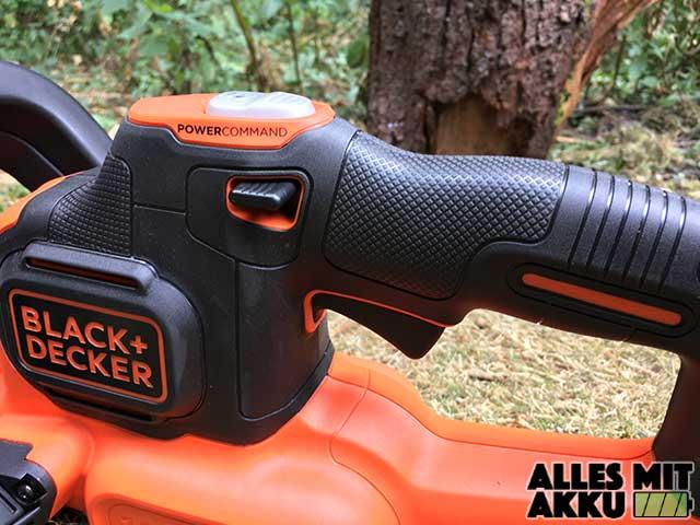 Black + Decker GTC18502PC Bedienung