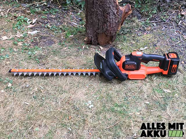 Black + Decker GTC3655PCLB von Links