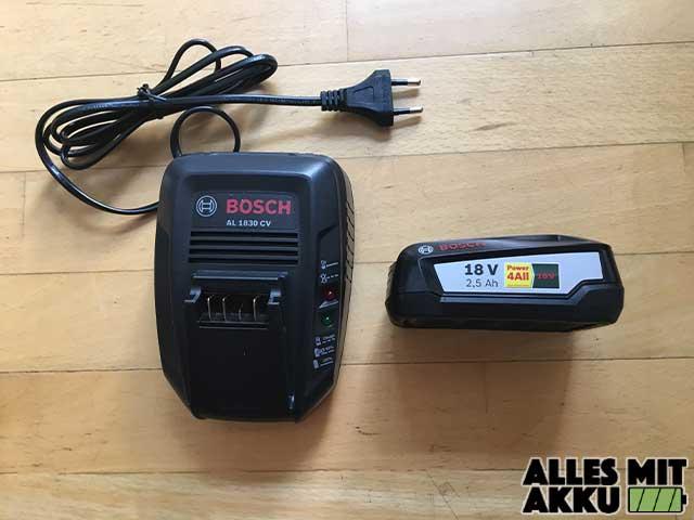 Bosch AHS 50-20 LI Ladegerät Akku