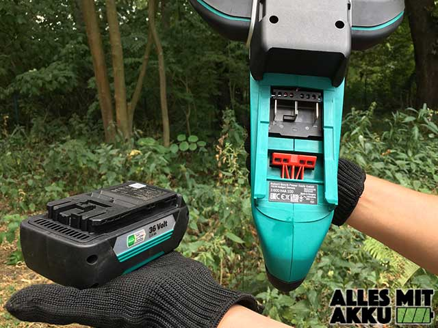 Bosch DIY AHS 54-20 LI Akku Aufnahme