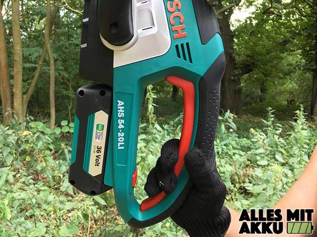 Bosch DIY AHS 54-20 LI Bedienung