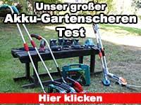 Akku Gartenschere Test