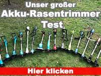 Akku Rasentrimmer Test