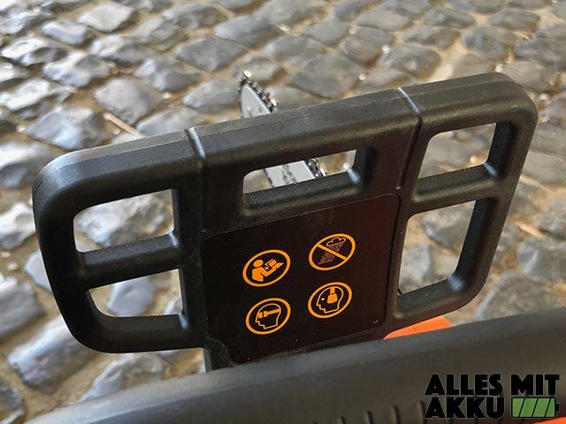 Black+Decker GKC1825L20 Kettenantrieb