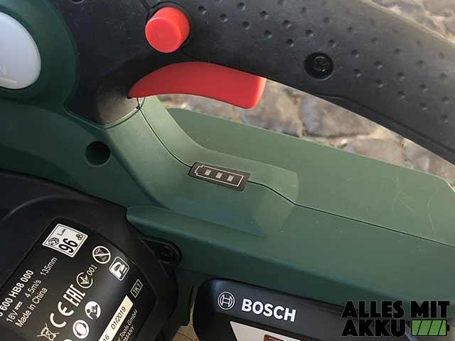 Bosch Universalchain 18 Akkustandsanzeige