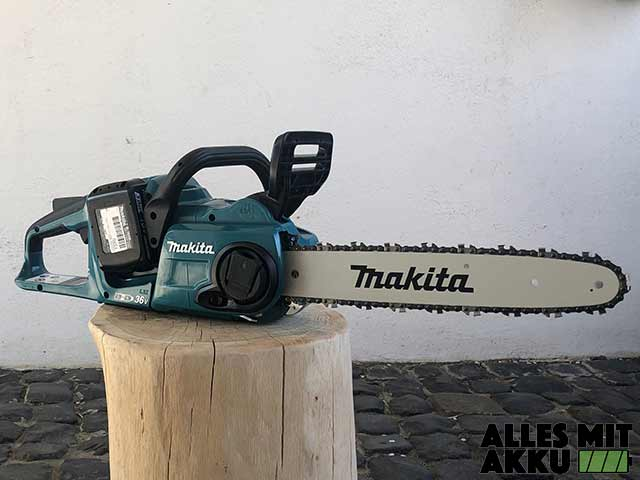 Makita DUC353Z Test