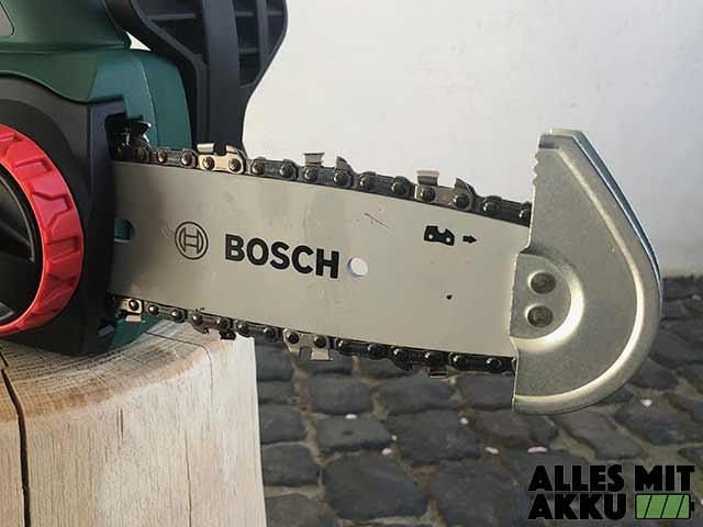 Bosch Akku Kettensäge Test Bosch Universalchain18 Schwert