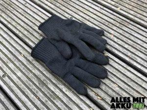 Schutzkleidung für Kettensägen Handschuhe