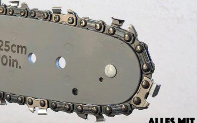 Sägeketten für Motorsägen – Der Unterschied zwischen Vollmeißel- & Halbmeißelkette