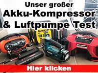 akku kompressor luftpumpe test