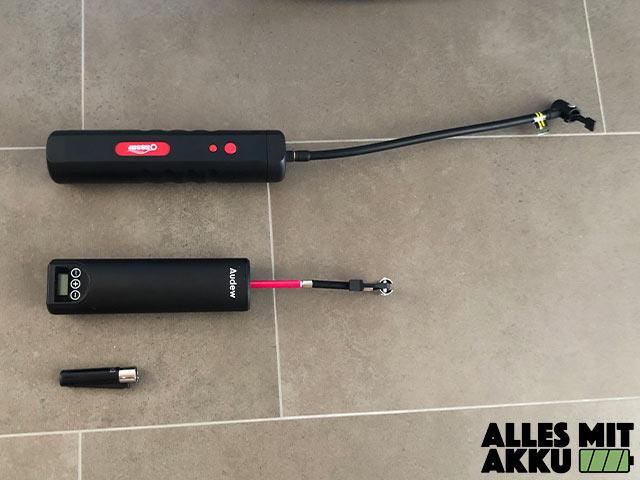 Akku Luftpumpen Test kleinste Kompressoren