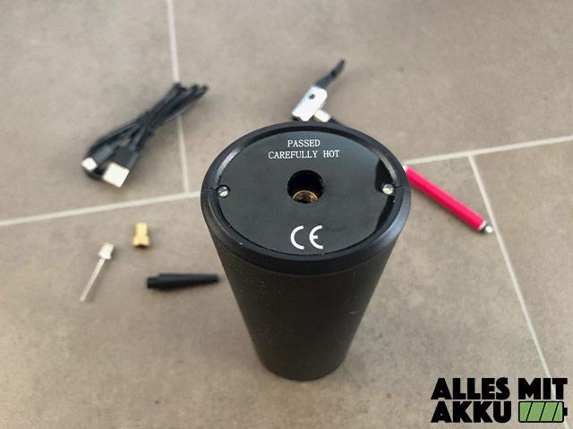 Audew 12V 150PSI Test Schlauchanschluss