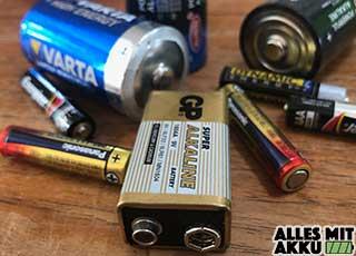 Batterietypen – Welche Arten gibt es?