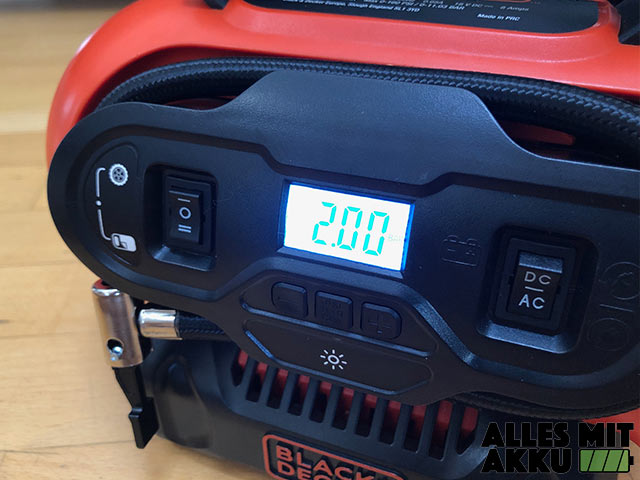 Black+Decker BDCINF18N QS Display Beleuchtet