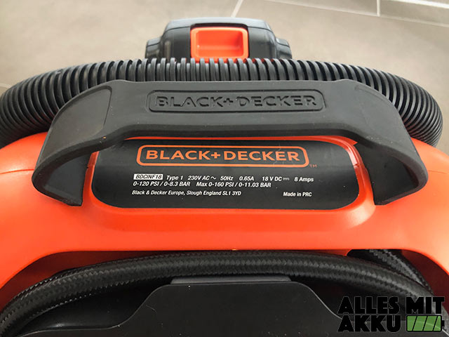 Black+Decker BDCINF18N QS Gummi Griff