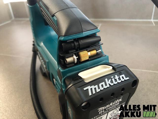 Makita MP100DZ Test Aufsatz Halterung