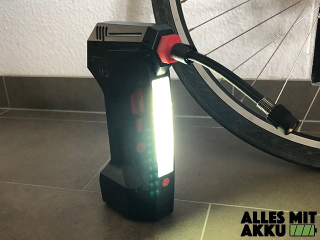 Waldbeck AirBuddy Test Lampe