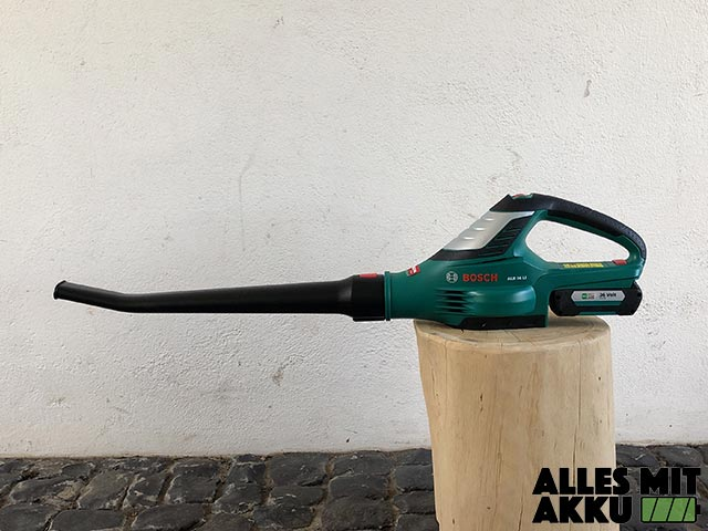 Akku Laubbläser Test Bosch ALB 36 LI Test