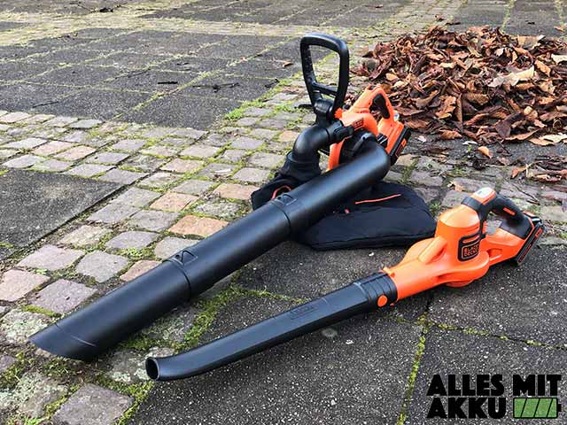 Black+Decker Akku Laubbläser Test
