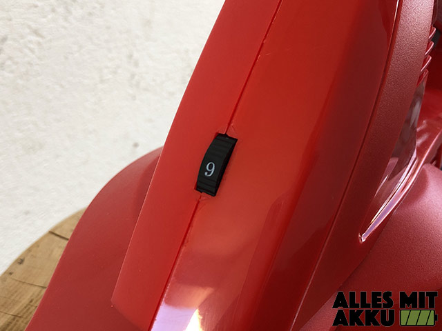 Akku Laubbläser Einhell GE-CL 18 Li E Set Power X-Change Stellrad
