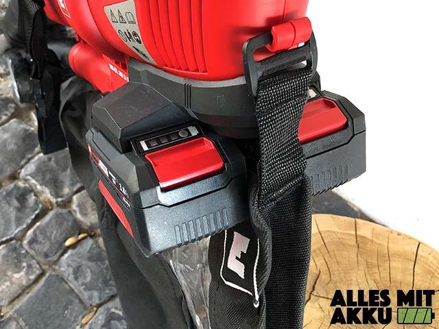 Akku Laubbläser Einhell GE-CL 36 Li E Solo Power X-Change Akkus