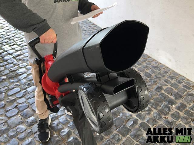 Akku Laubbläser Einhell GE-CL 36 Li E Solo Power X-Change Rohr
