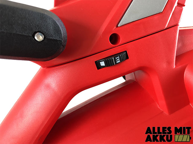 Akku Laubbläser Einhell GE-CL 36 Li E Solo Power X-Change Stellrad