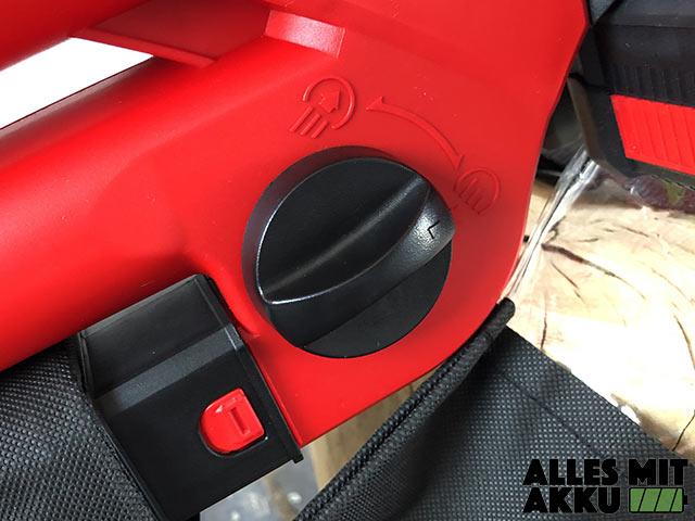 Akku Laubbläser Einhell GE-CL 36 Li E Solo Power X-Change Zwei Funktionen