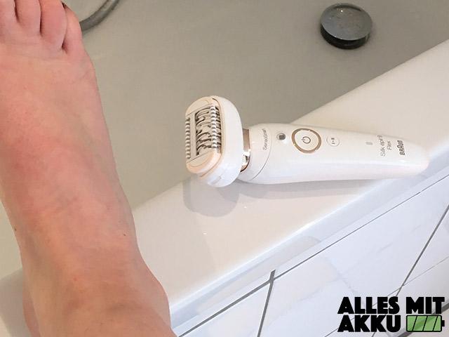 Haarentfernung - Haut vorbereiten