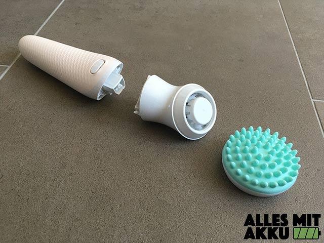 Braun Silk-épil 9 Flex Test - Massage Aufsatz