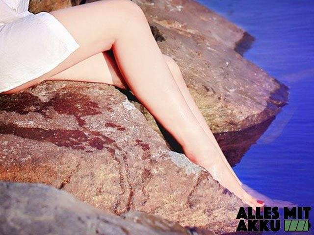 Eingewachsene Haare - Beine 2
