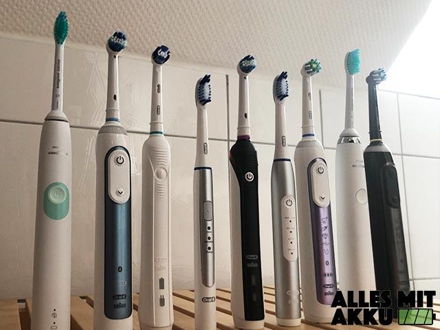 Elektrische Zahnbürste Test - Alle Modelle 2