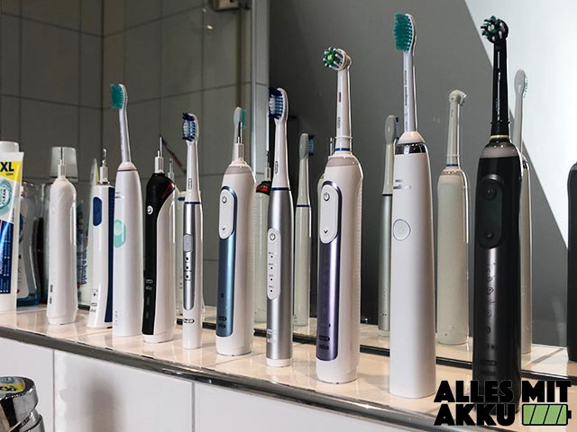 Elektrische Zahnbürste Test - Alle Modelle 3